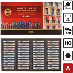 Koh-I-Noor Toison D'or extra mekane (suhe) pastele, set 48 komada