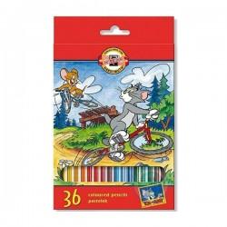 KOH-I-NOOR - Drvene bojice - 36 komada