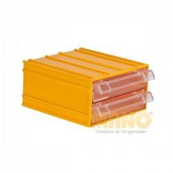 Kutija za alat (2 ladice)  110mm x 120mm x 62mm