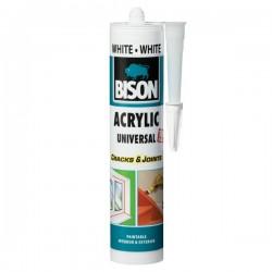 BISON - Universal - Akrilno univerzalno brtvilo - White - 300 ml