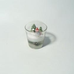 Svijeća u čaši 7cm