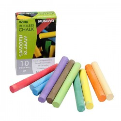 MUNGYO - Dustless Chalk - 12 kom