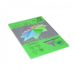 Papir fotok.SPECTRACOLOR A4 int.zeleni PARROT 80gr.100araka