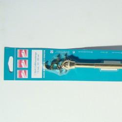 Vitraža 12mm, 135-225cm, zlatna
