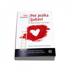 Knjiga Pet jezika ljubavi - Gary Chapman