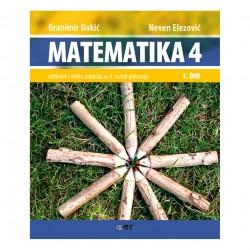 MATEMATIKA 4 - I.dio - Udžbenik i zbirka zadataka za 4. razred gimnazija