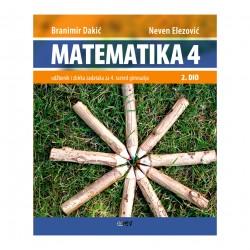 MATEMATIKA 4 - II.dio - Udžbenik i zbirka zadataka za 4. razred gimnazija